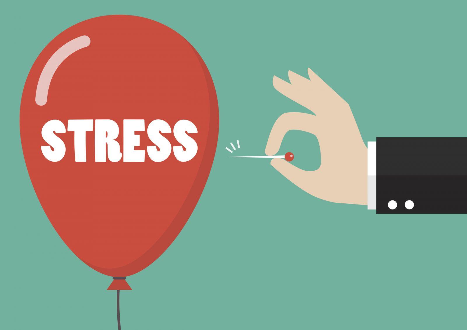 Avoid Stress - menopause hair loss
